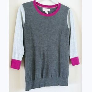 Banana Republic Colorblock Wool Sweater XS